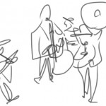 line drawing band 3