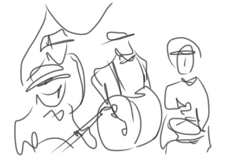 line drawing band 4