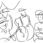 line drawing band 2